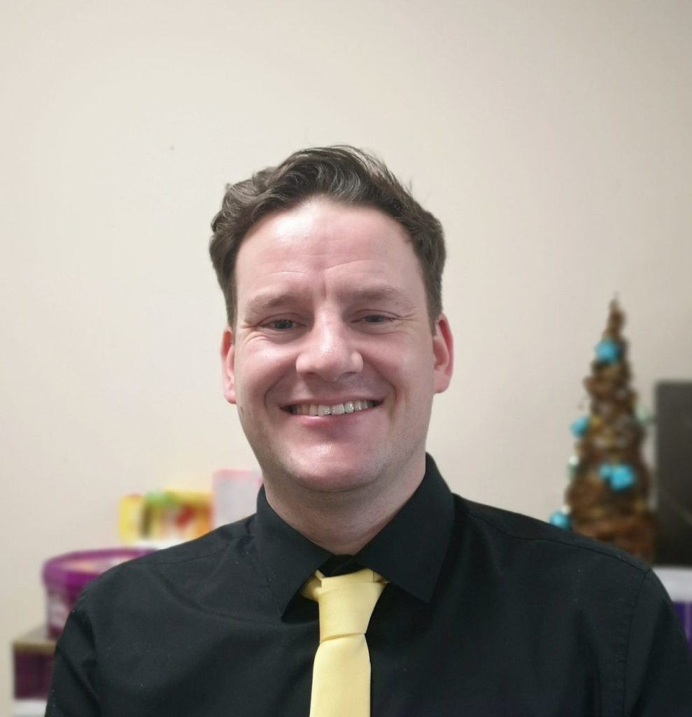 Picture of Matthew, Valleys Steps Practitioner