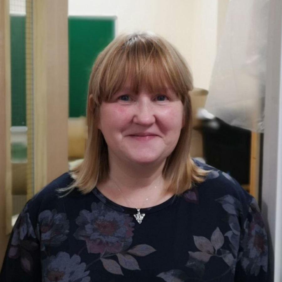 An image of Jane Thomas, the valleys steps volunteer support officer