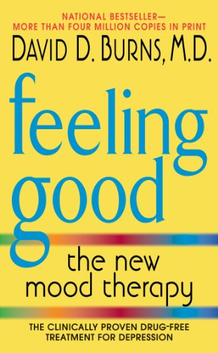 "A an image of a book entitled ""Feeling Good, the new mood therapy"""