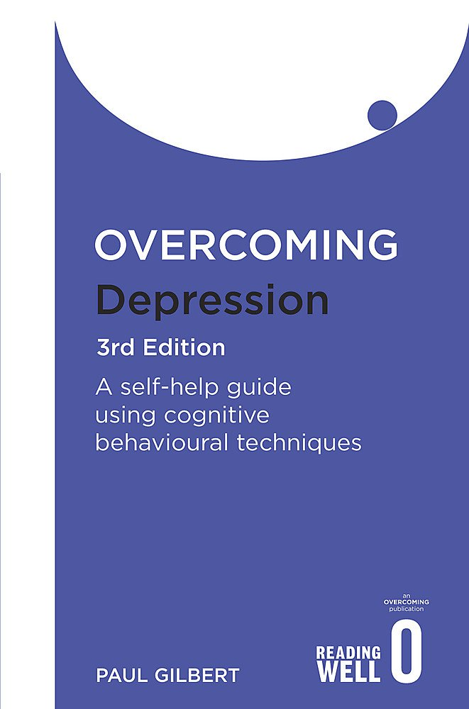 "An image of a book entitled ""Overcoming Depression"", by Paul Gilbert"